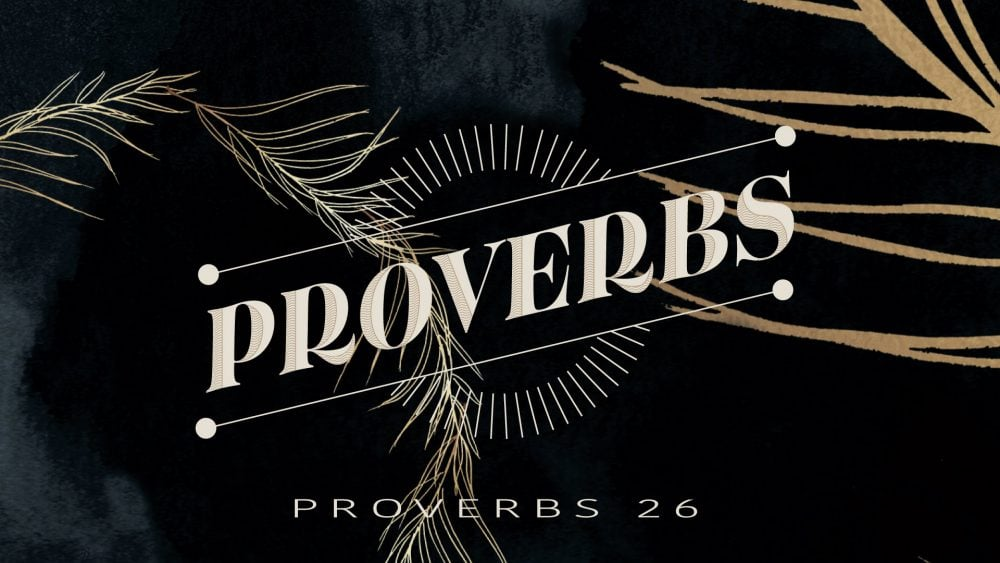 Proverbs 26 Image