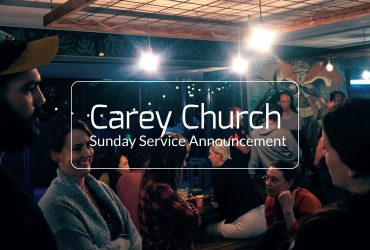 Important Information Regarding Sunday Services