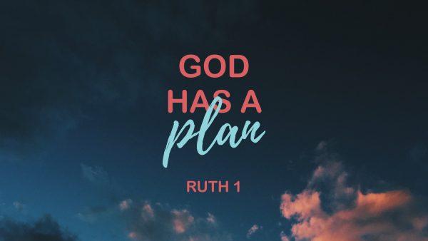 God has a plan Image